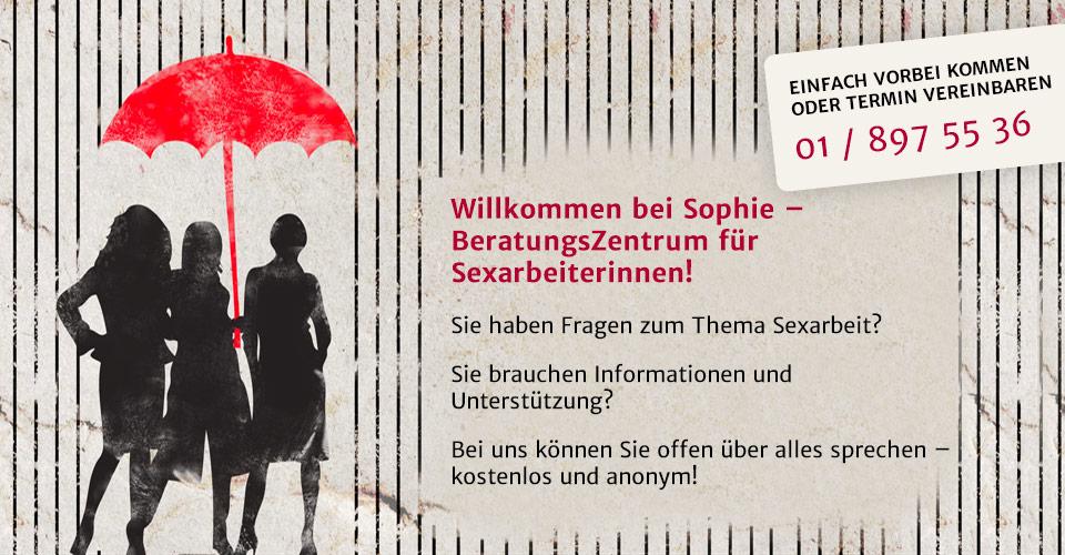 Willkommen bei Sophie - BeratungsZentrum für Sexarbeiterinnen